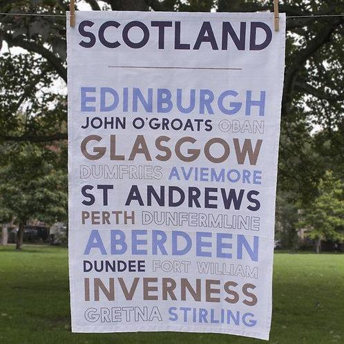 Scotland Tea Towel