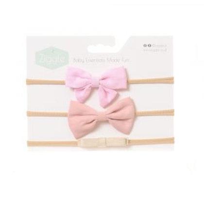 Pale Pinks Hairbow Set