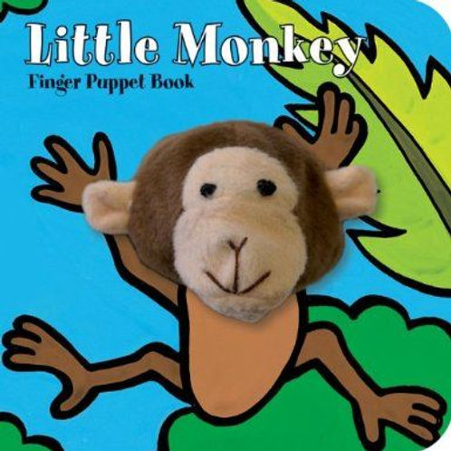 Little Monkey Finger Puppet Book