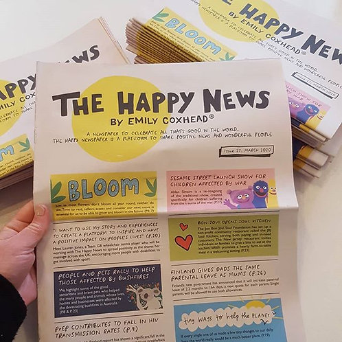 The Happy Newspaper - Issue 17