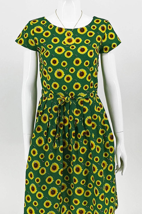 Sunflower Tea Dress