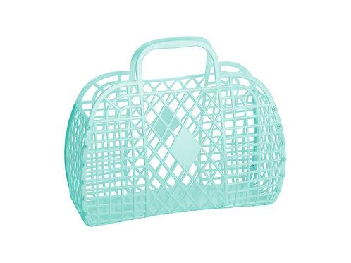 Retro Basket - Large Mint