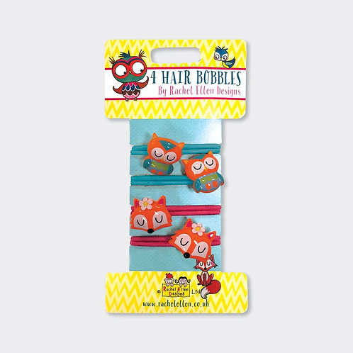 Hair Bobbles - Foxes/Owls