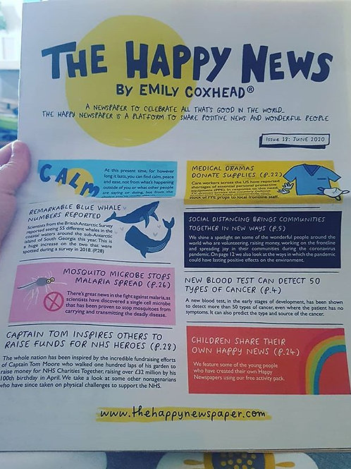 The Happy Newspaper - Issue 18