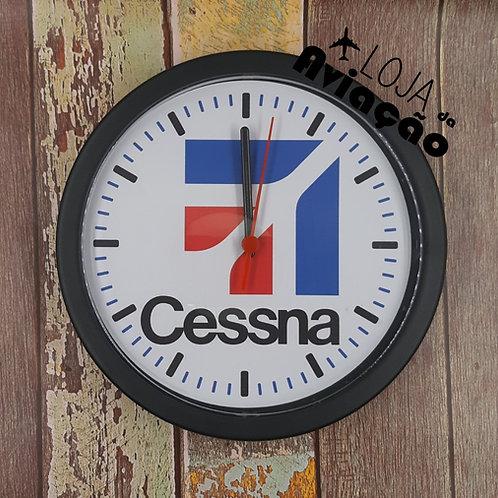 Relógio de parede Cessna