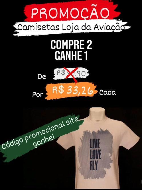 Camiseta promoção
