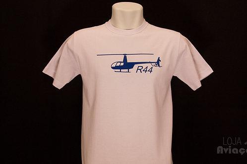 Camiseta Helicóptero Robinson 44 R44 Aviação