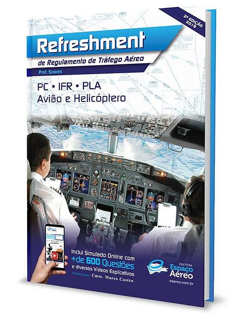 Livro Refreshment de Regulamentos de Tráfego Aéreo - Prof.Soares
