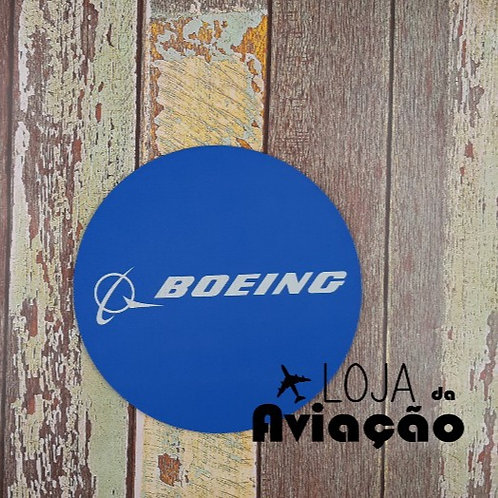 Mouse pad Boeing azul