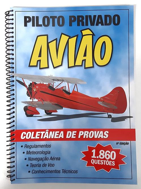Coletânea de Provas 1.860 questões Piloto Privado Avião