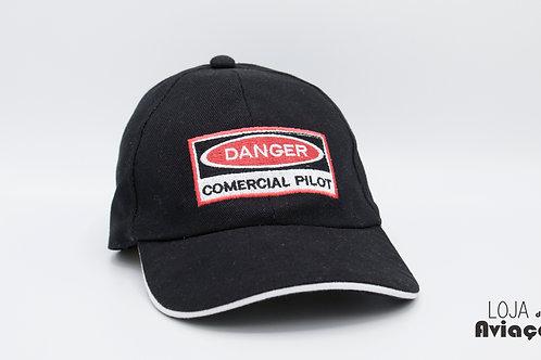 Boné Danger Comercial Pilot