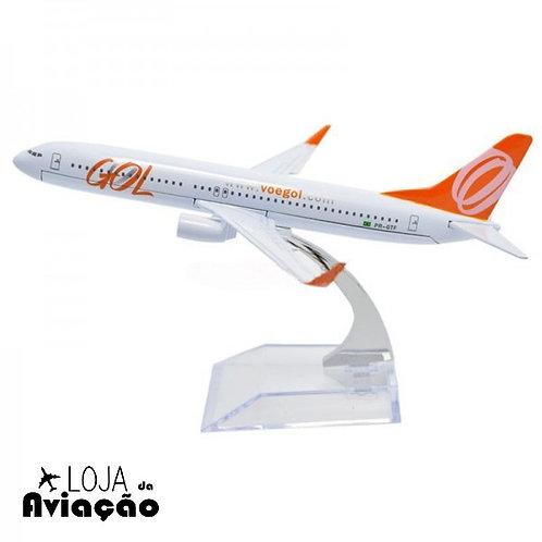 Avião miniatura metal Boeng B737