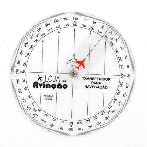 TRANSFERIDOR / PLOTADOR PARA NAVEGAÇĀO COM CURSOR E AVIÃOZINHO