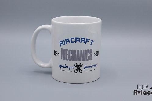 Caneca Aircraft Mechanics - Mecânico /manutenção de aeronaves