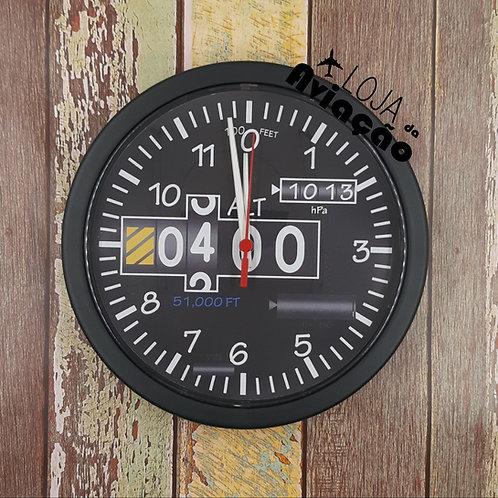 Relógio de parede Instrumentos altímetro