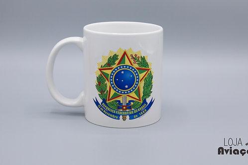 Caneca Brasão República Federativa do Brasil