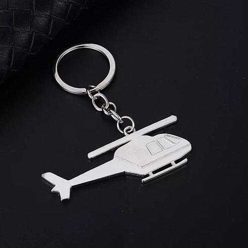 Chaveiro Helicóptero metal