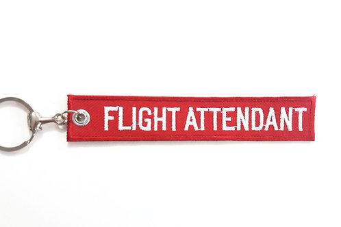 Chaveiro Flight Attendant - Comissário (a) de voo