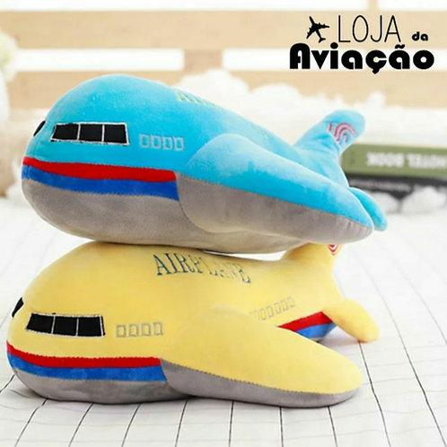 Avião de pelúcia