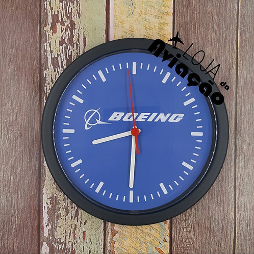 Relógio de parede Boeing