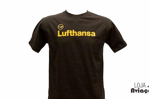 Camiseta Lufthansa Aviação