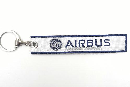 Chaveiro bordado Airbus
