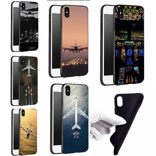 Capinha de celular I phone X de silicone