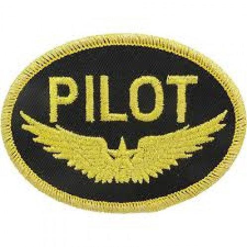 Patch bordado termocolante Pilot asa