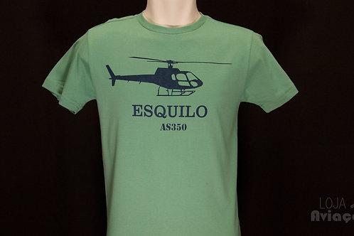 Camiseta Helicóptero Esquilo AS350