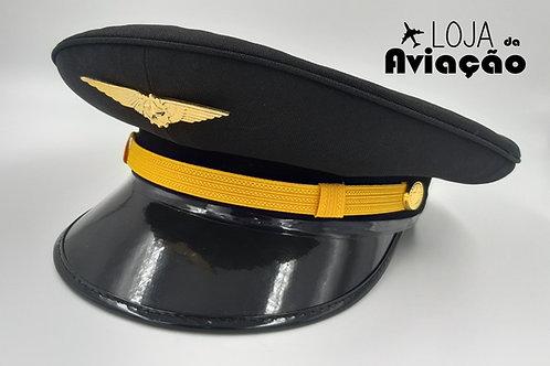 Quepe preto Piloto masculino