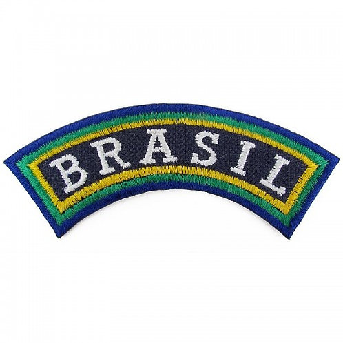 Patch bordado termocolante Brasil