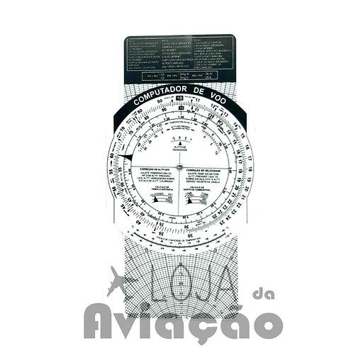 Computador de voo nacional em português PVC