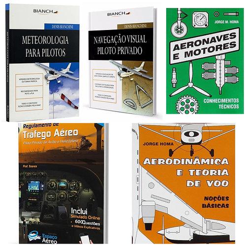 Kit Piloto Privado Avião  Aeroclube do Paraná
