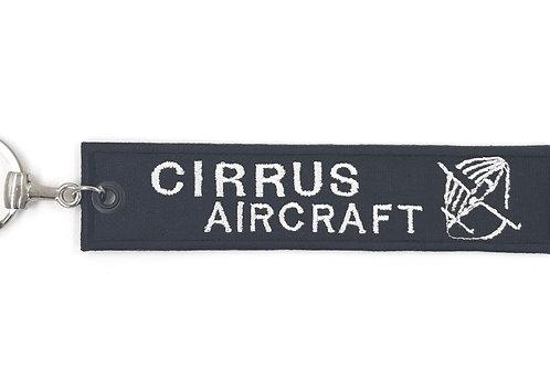 Chaveiro bordado Cirrus Aircraft