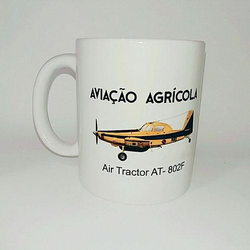Caneca Aviação Agrícola Air Tractor AT - 802F