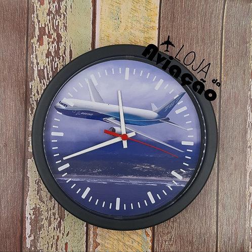 Relógio de parede avião Boeing