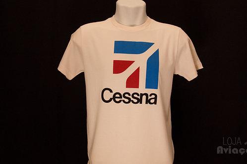Camiseta Cessna - Loja da Aviação