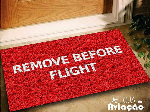 Tapete Capacho Remove Before Flight