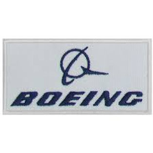Patch bordado termocolante Boeing