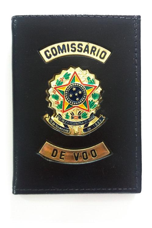 Carteira Porta Documentos Comissário de Voo