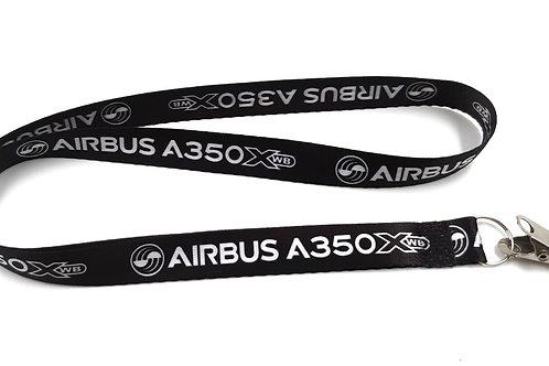 Cordão de crachá Airbus A350X