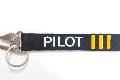 Chaveiro Pilot com mosquetão