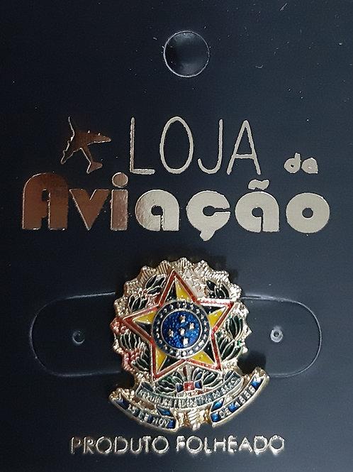 Pin mini Brasão da República