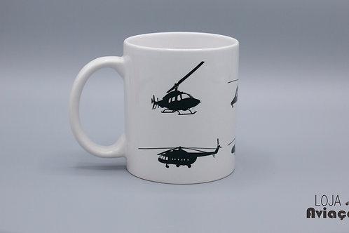 Caneca helicópteros