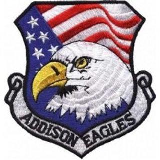 Patch bordado termocolante Addison Eagles águia