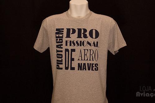 Camiseta Pilotagem Profissional de Aeronaves