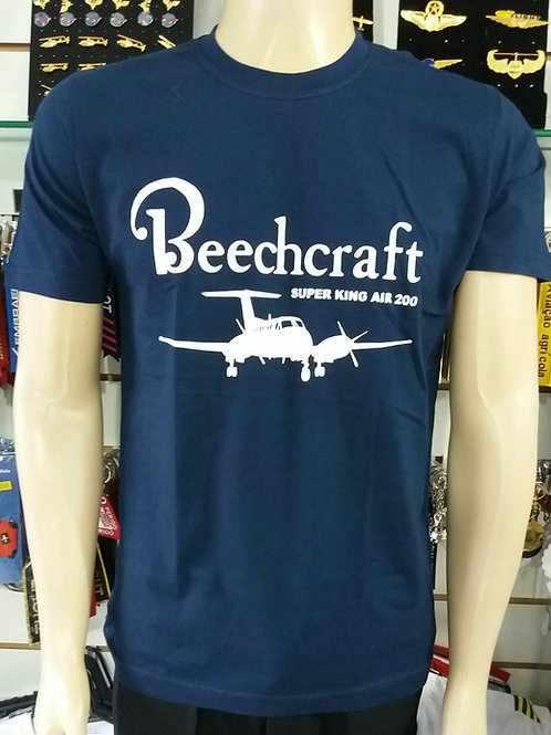 Camiseta Beechcraft Super King Air 200