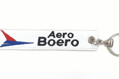 Chaveiro bordado Aero Boero
