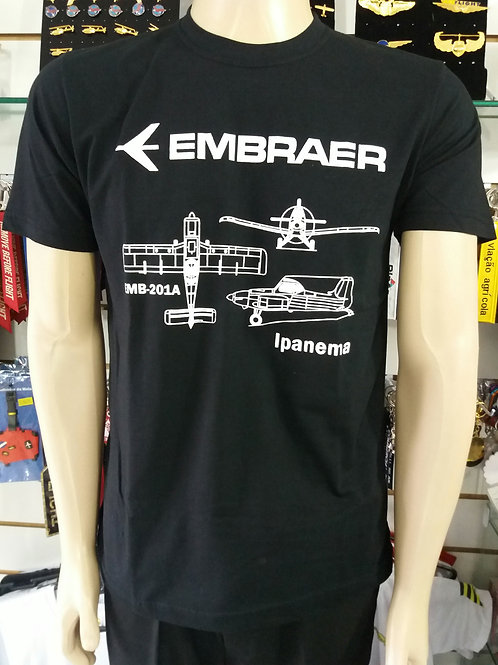 Camiseta Ipanema EMB201A Embraer
