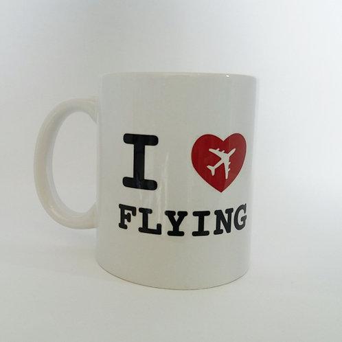 Caneca I love flying